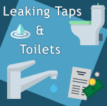 Leaking Taps and Toilets – Wasting More Than Just Water!